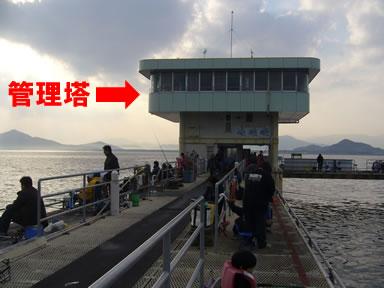 福岡市海づり公園管理塔