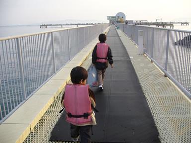 海釣りライフジャケット子供