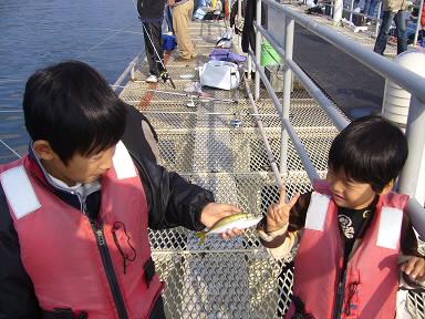 海釣り兄弟